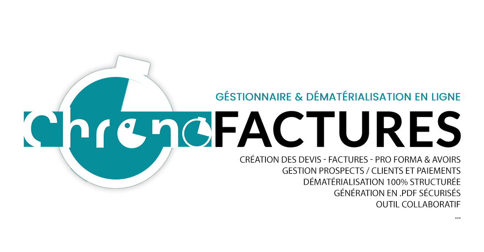 creer devis en ligne factures avoirs et pro format gestion impayes chrono factures