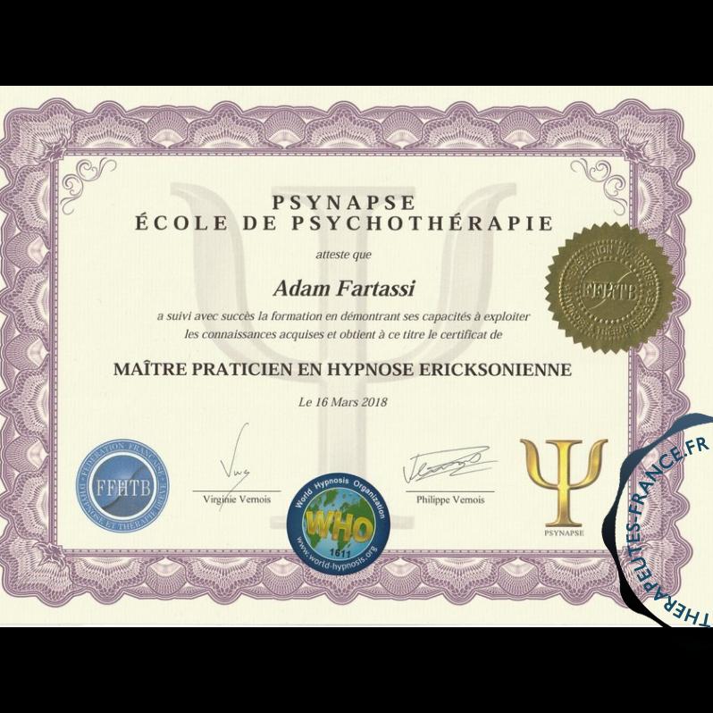 Hypnose Ericksonienne 50.00 1